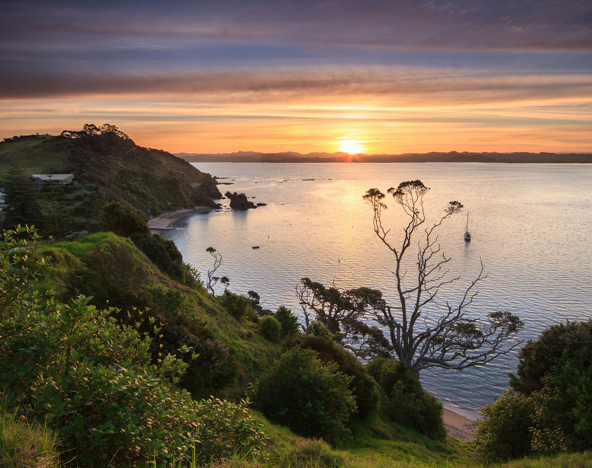 Tapeka Point Sunset