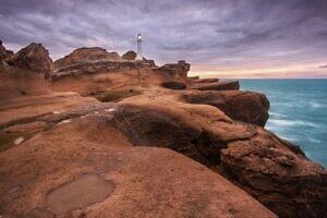Castlepoint Lighthouse Rocks