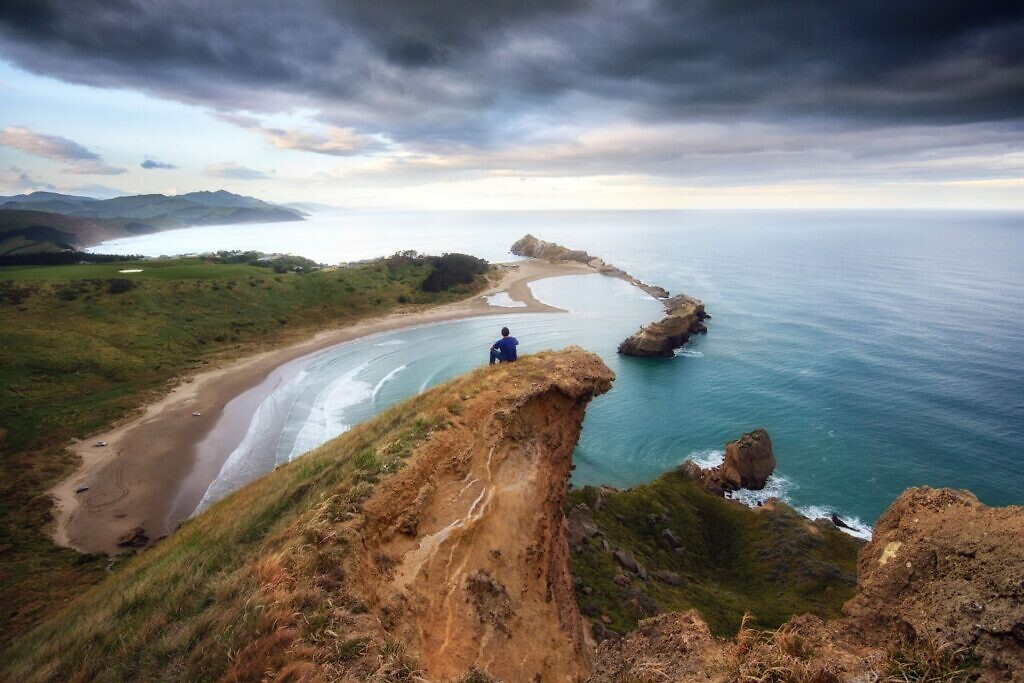 View from Castle Rock, Castlepoint, Wairarapa