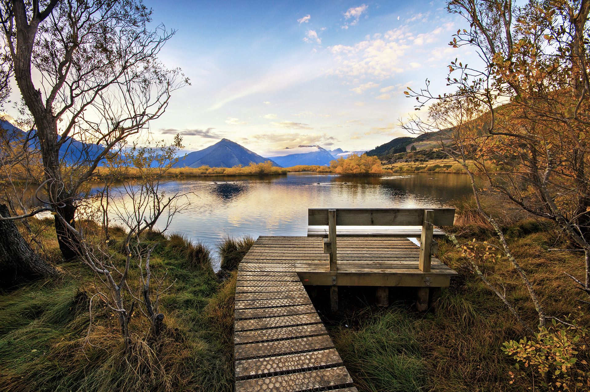 Glenorchy Seat with a View
