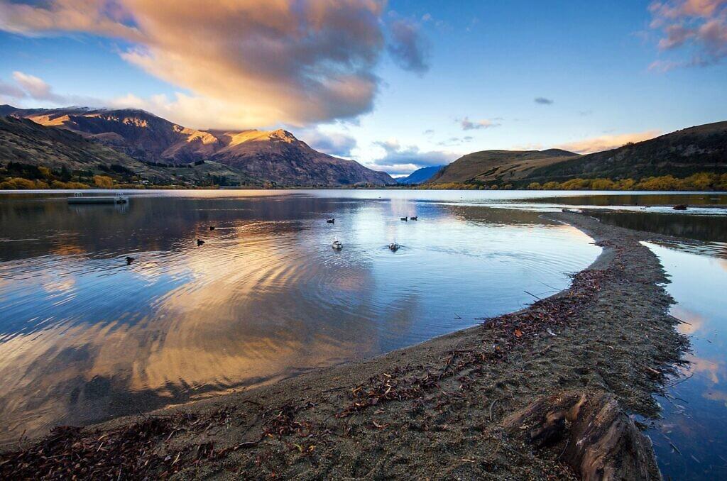 Lake Hayes reflections