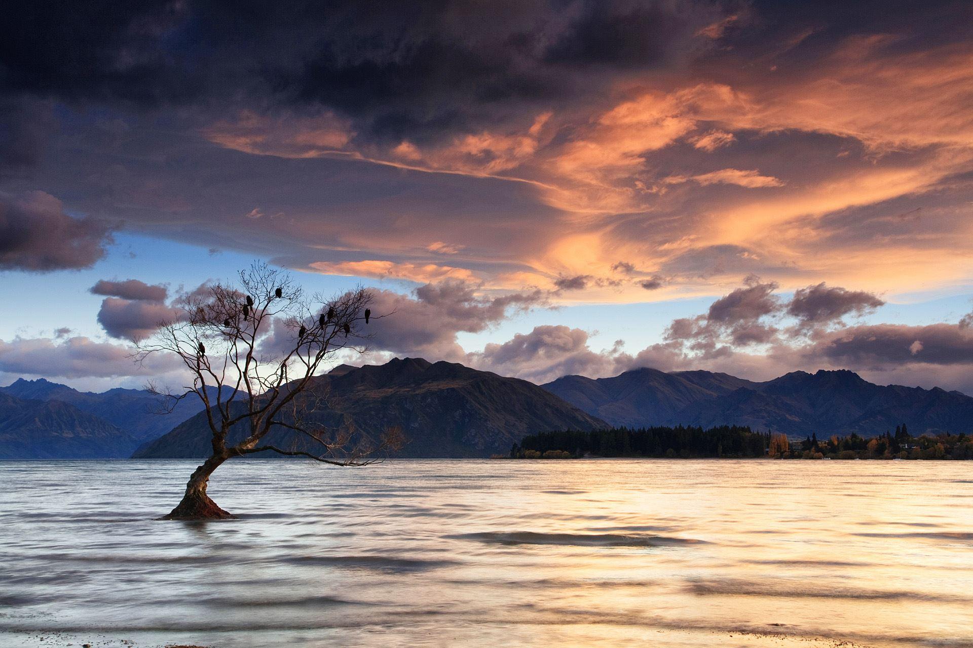 Lake Wanaka Clouds