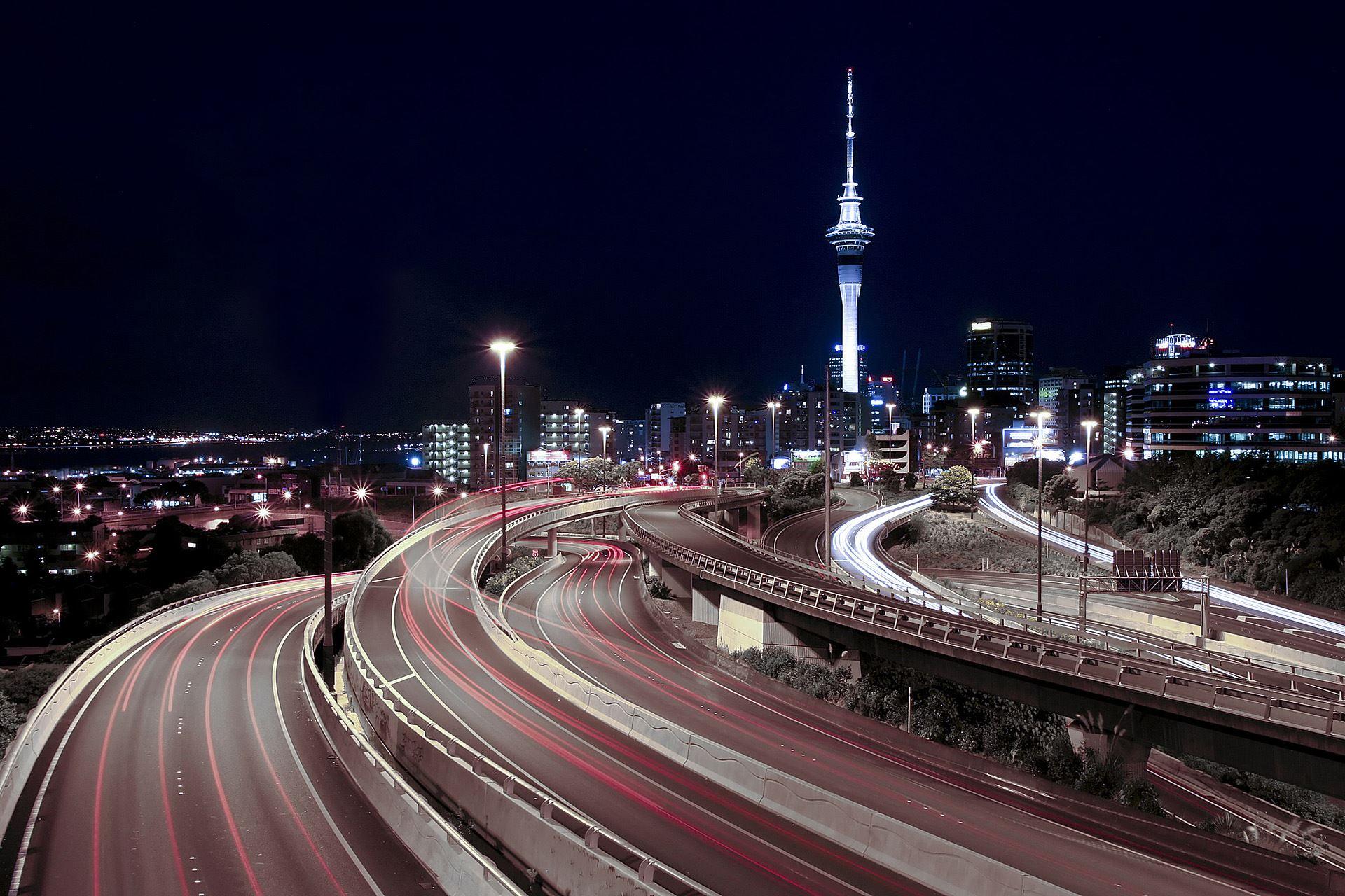 Auckland's Spaghetti Junction