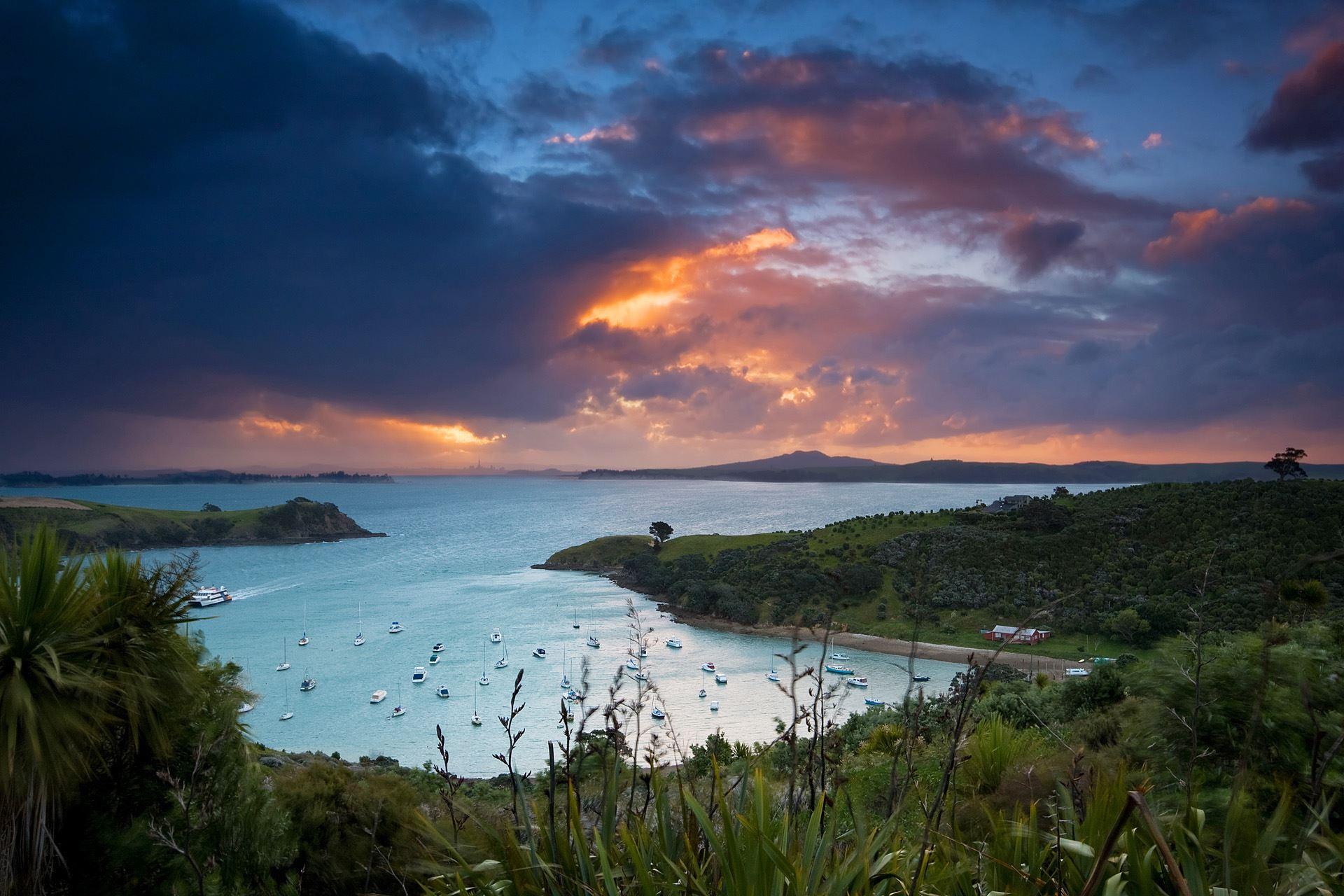 Waiheke Island Sunset