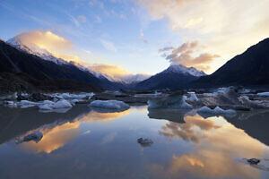 Tasman Lake Mirror