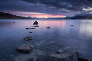 Lake Tekapo Moody Dawn