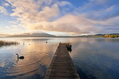 Lake Tarawera Reflections