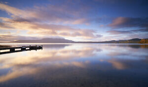 Lake Tarawera Reflections 2