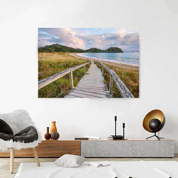 Matapouri Bay Canvas Wall Art
