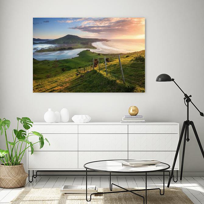 Otago Peninsula Canvas Wall Art