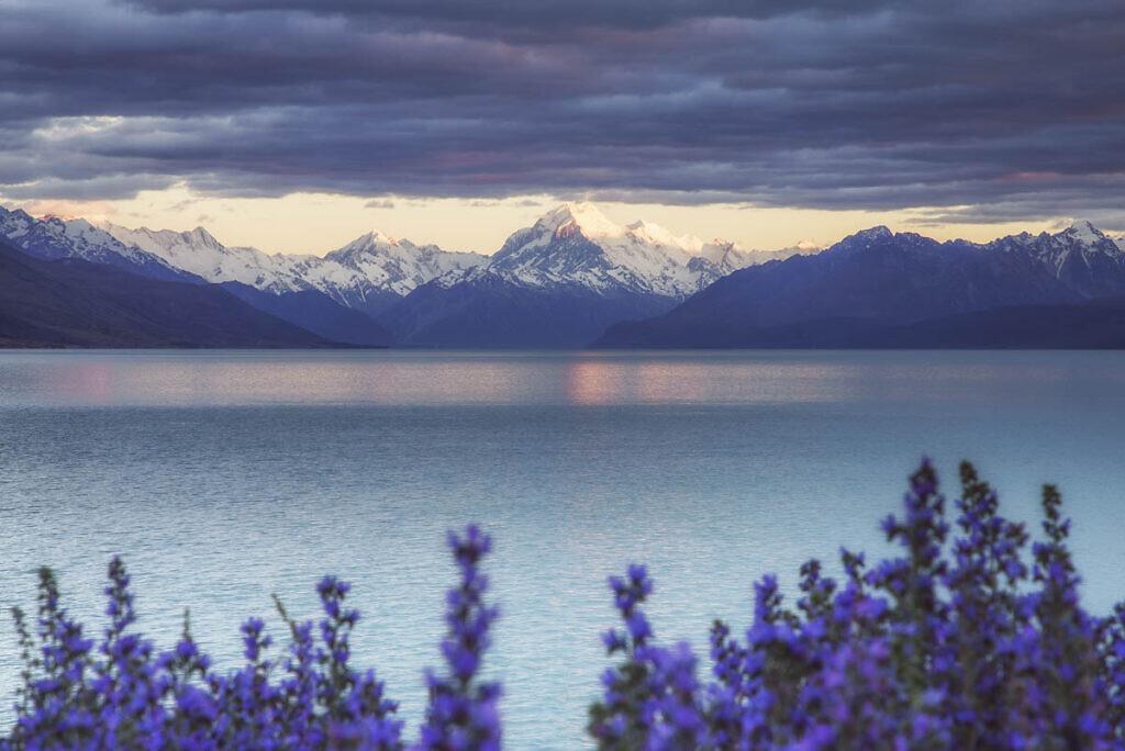 Mt Cook from Lake Pukaki