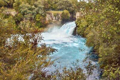 Huka Falls view