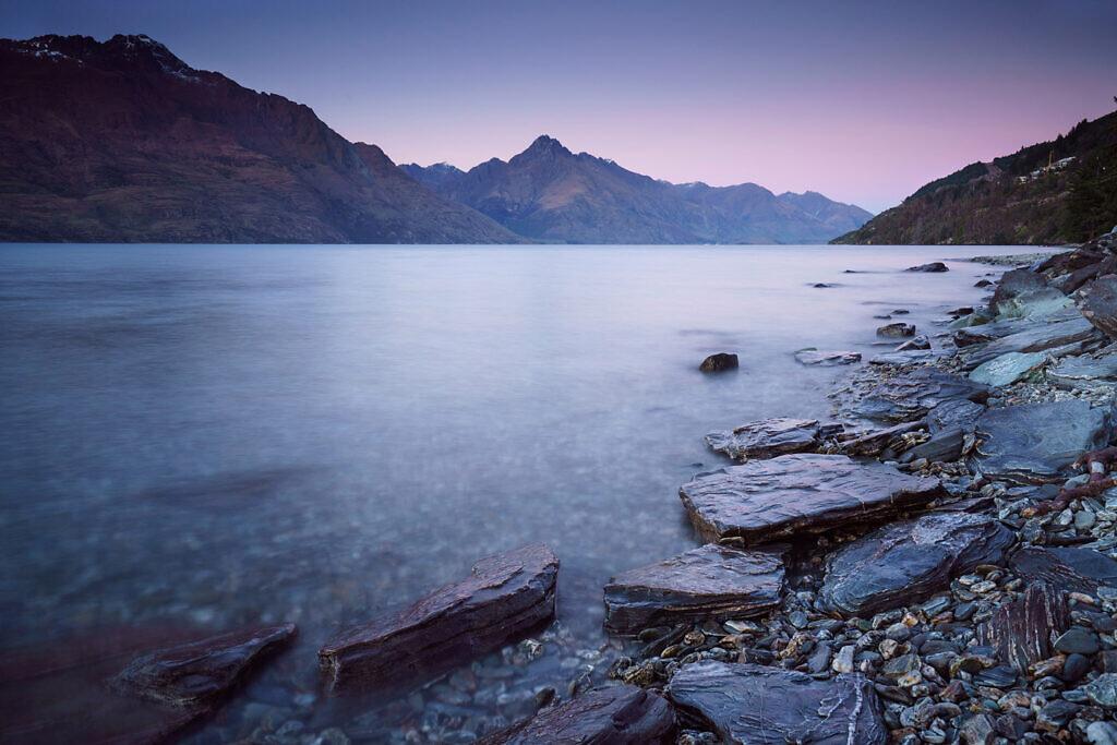 Lake Wakatipu dawn