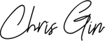 Chris Gin signature