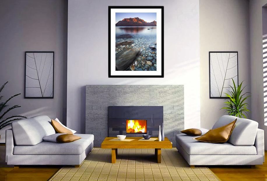 Lake Wakatipu wall art