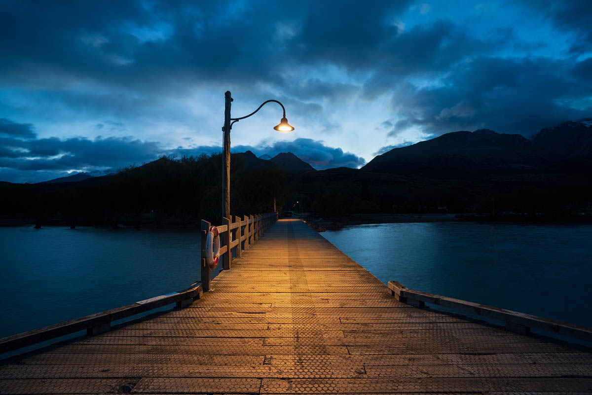 Glenorchy wharf